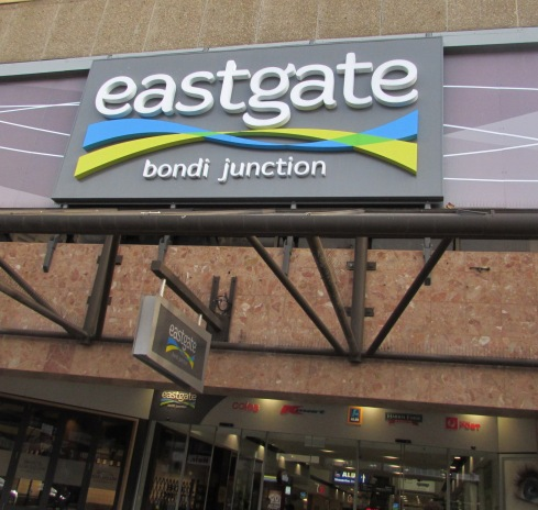 Just a few bus-stops away was EASTGATE