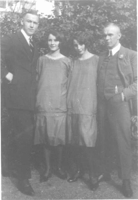 Alexander, Charlotte, Ilse, Edmund 1925