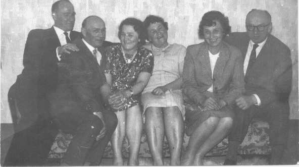 Geschw. Spickermann, Alexander, Ludwig, Jenny, Olga, Lies, Edmund 13.5.1964