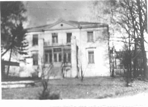 Haus von Josef und Hulda Spickermann during the 40ties