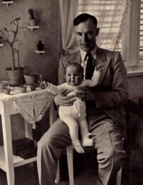 Ostern 1935 mit Oleg