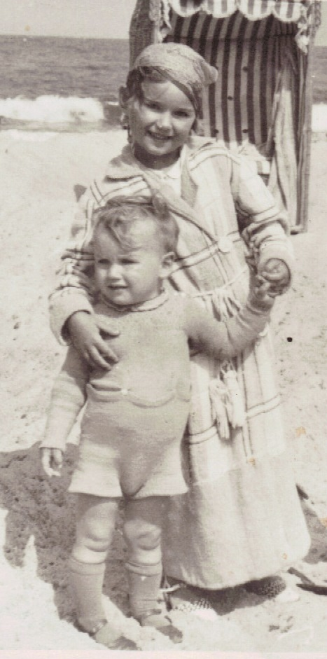 Here I am with my brother Bodo in June 1940.