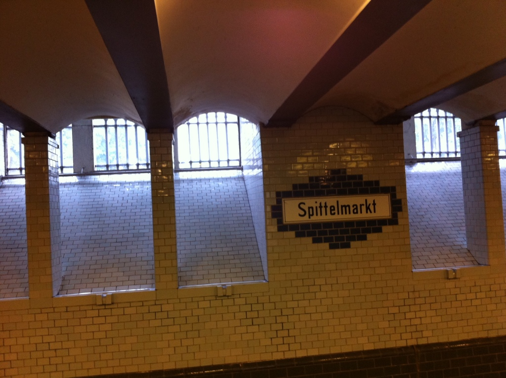 Another U-Bahnhof (Underground Station)