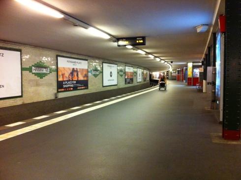 Potsdamer Platz underground station