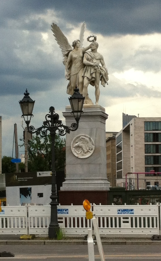 """This is along the avenue """"Unter den Linden"""""""