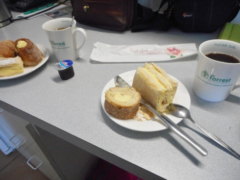 We liked to have coffee and cake in our room.