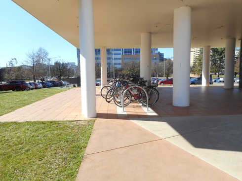Bike riding is quite popular in Canberra.