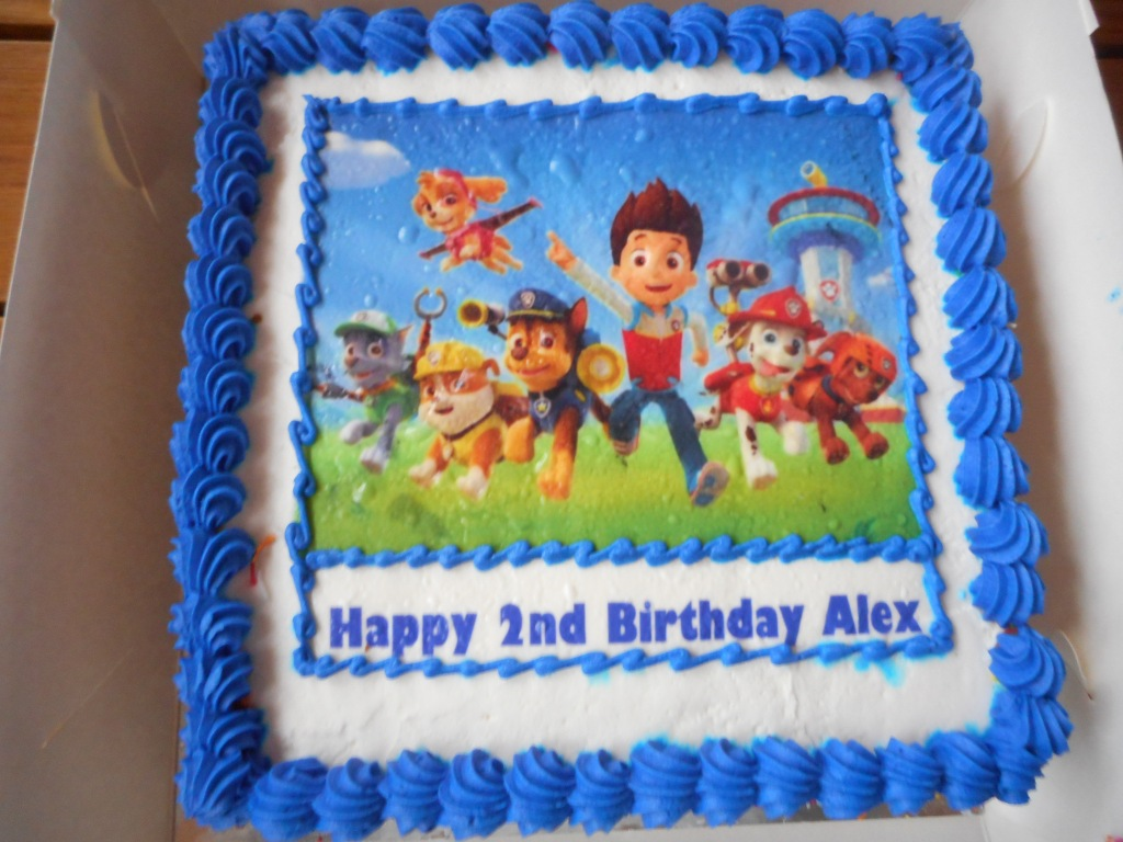 There was a Birthday Cake for Alexander
