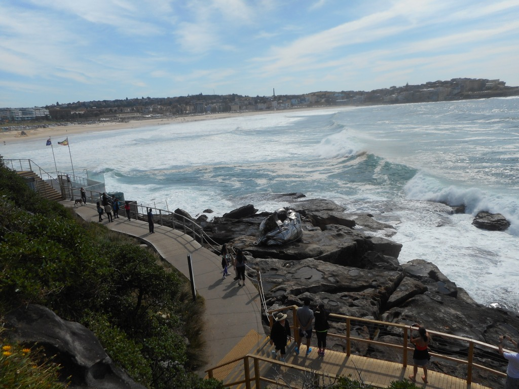A view towards Bondi Beach