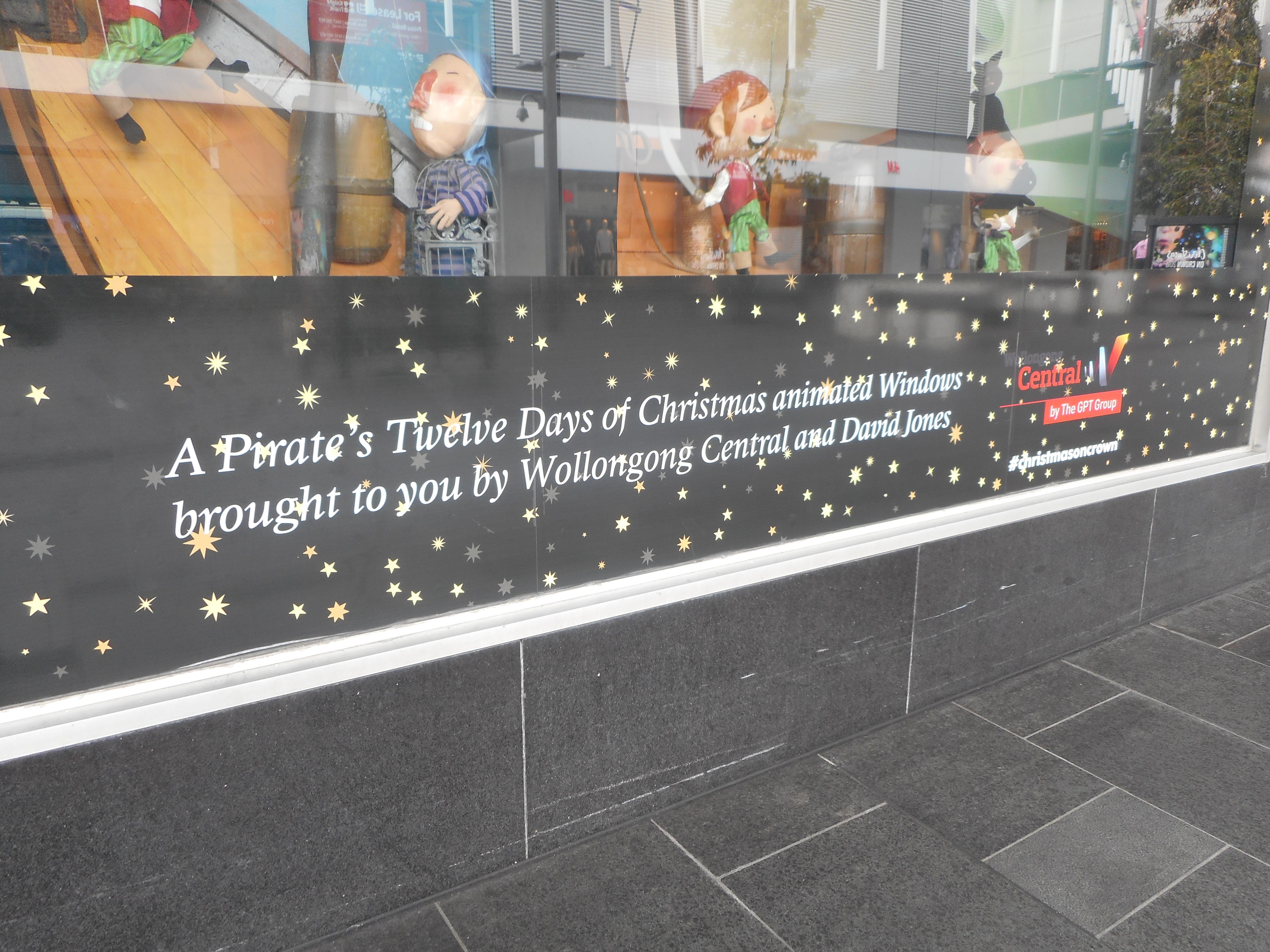 At Wollongong Mall