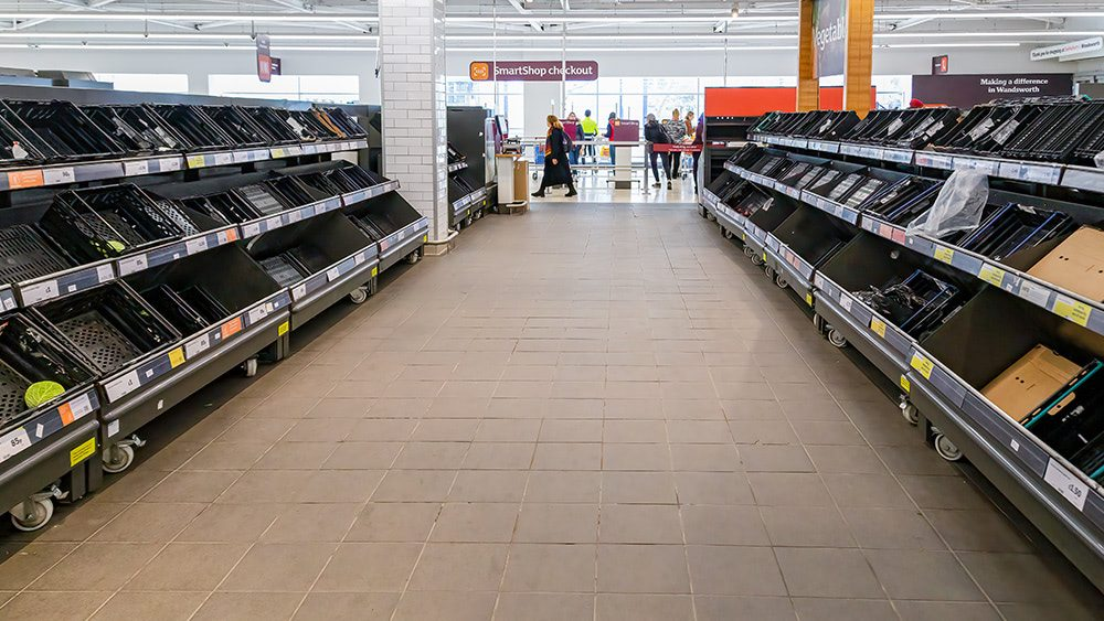 Covid supply chain issues now hitting fast-food chains as shortages in foods and packaging both worsen